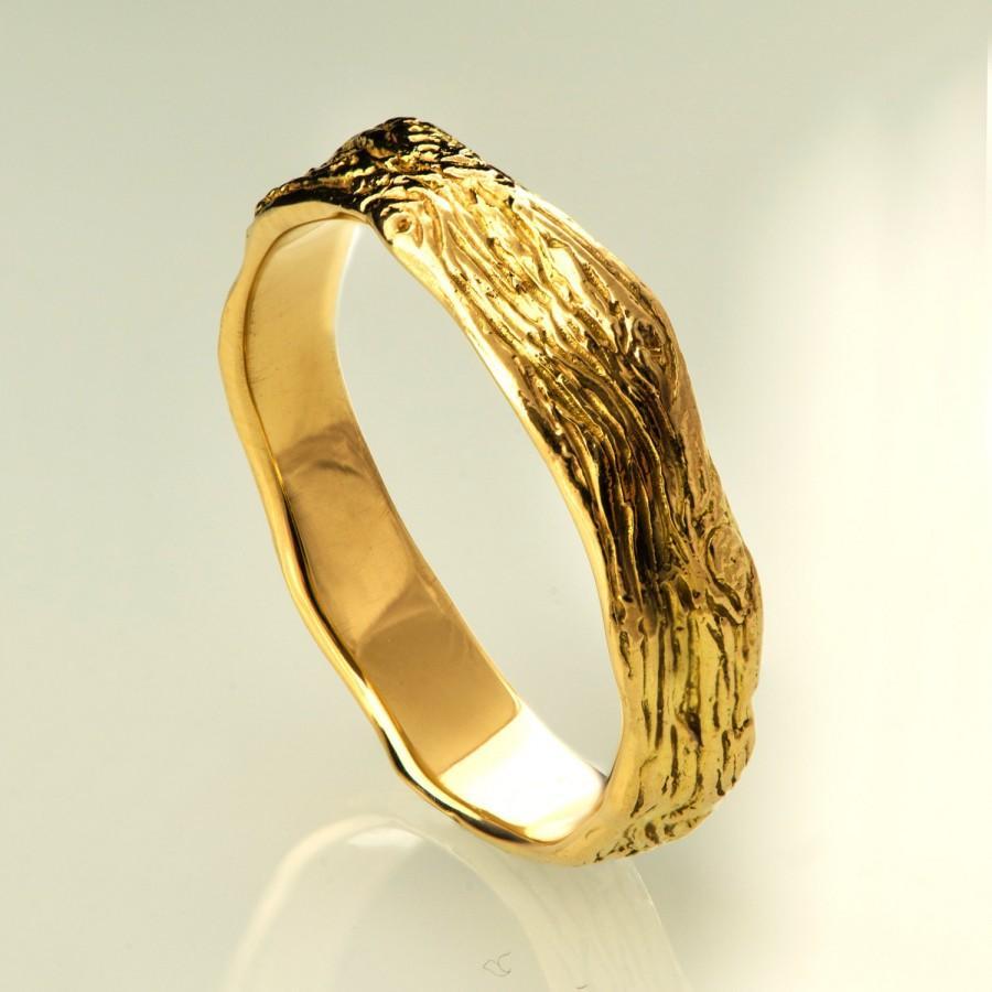 Twig Ring No.6 - 14K Gold Ring, Wedding Ring, Wedding Band, Games Of ...