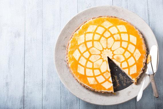 Свадьба - Big flower texture Cake stencil cake- Round stencil for cake decoration. Serial number- R068.  fFlower cakes design supplies