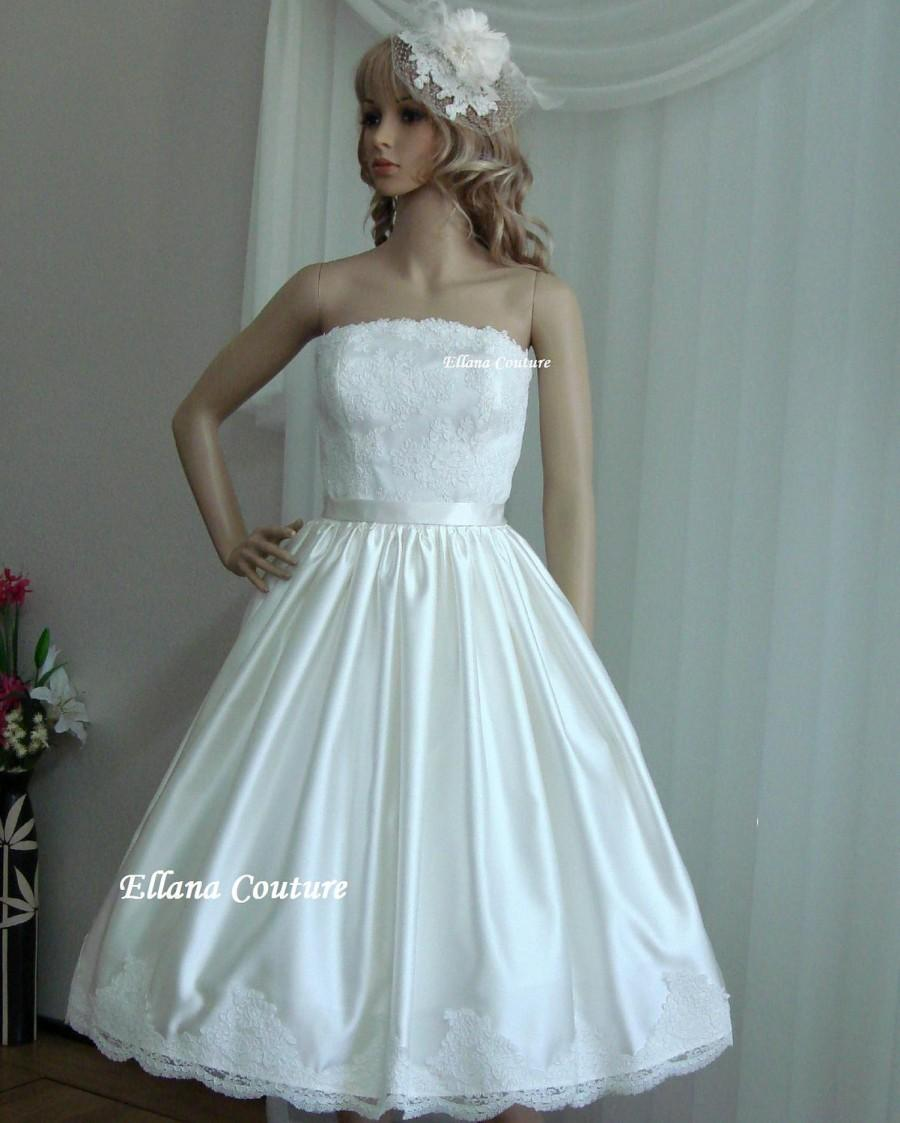Plus Size. Irene , Stunning Vintage Inspired Wedding Gown
