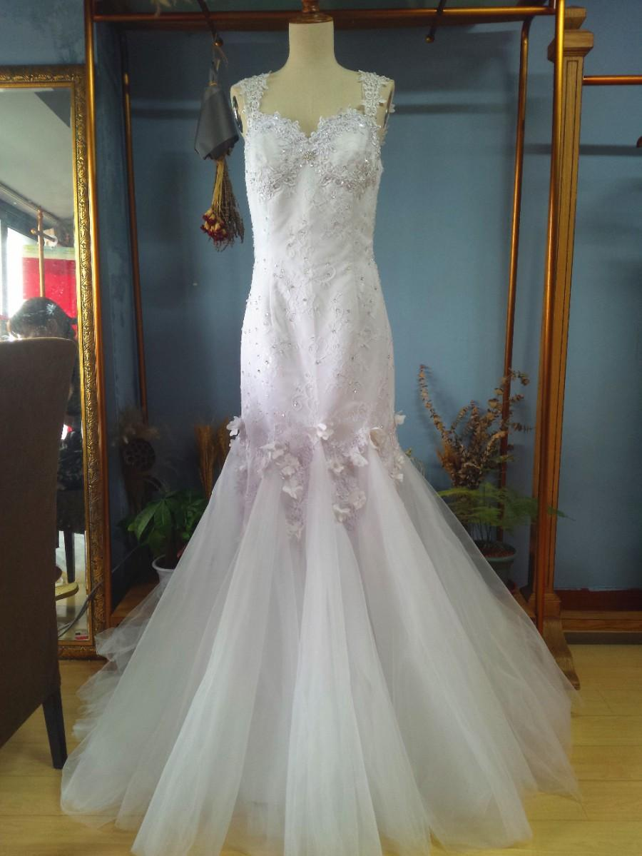 زفاف - Aliexpress.com : Buy Queen Anna Neck Mermaid Wedding Dress with Beading and Lace from Reliable dress drape suppliers on Gama Wedding Dress