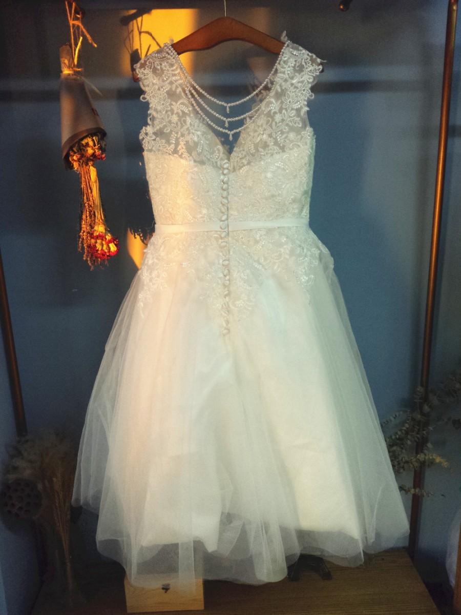 Aliexpress Com Buy V Neck Knee Length Short Summer Wedding Dresses With Beading Tassles From Reliable Dress Church Wedding Suppliers On Gama Wedding Dress 2587253 Weddbook,Nice Dress For Wedding Party