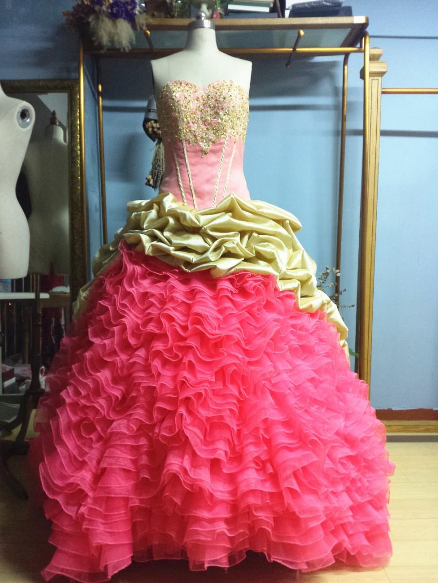 37b31ede70e Aliexpress.com   Buy Sleeveless Sweetheart Floor Length Brush Train Ball Gown  Quinceanera Dresses from Reliable dress patterns evening gowns suppliers on  ...