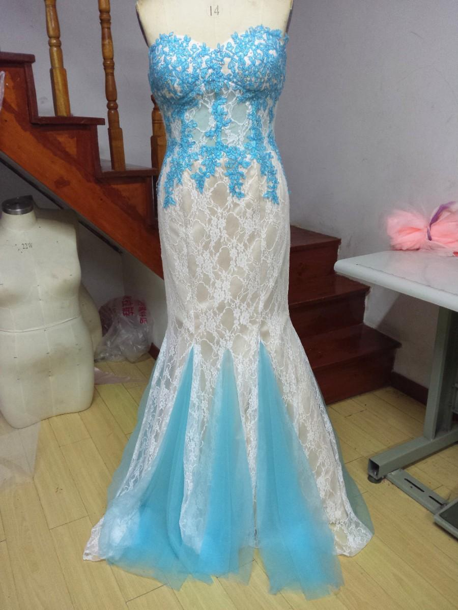 Aliexpress.com : Buy Sweetheart Sleeveless Floor Length Mermaid ...