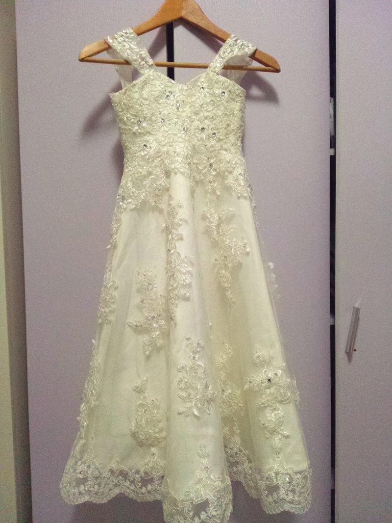 Wedding - Aliexpress.com : Buy Little Princess Flower Girl Dress with Beading Appliques Pearls Holy First Communion Dress from Reliable girls a line dress suppliers on Gama Wedding Dress