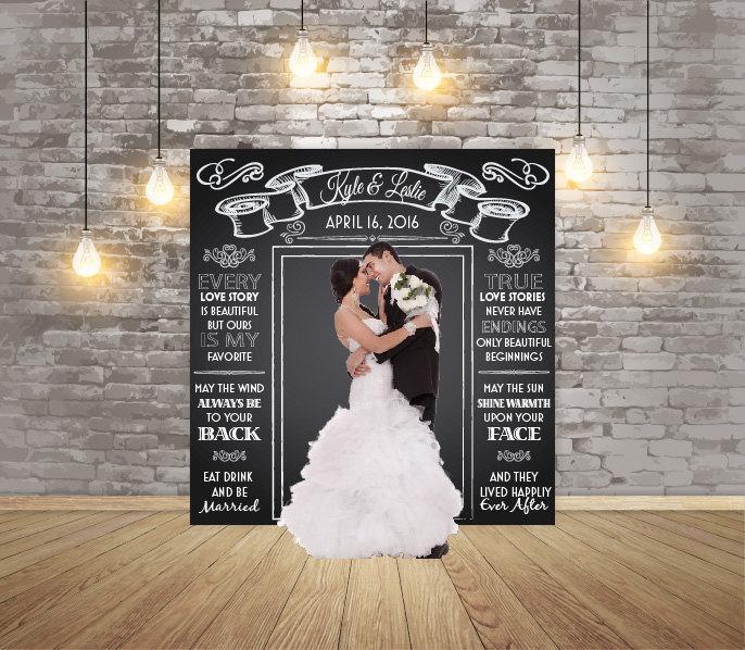 Свадьба - Backdrop