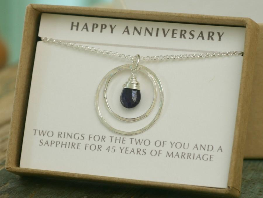 45th Anniversary Gift Wedding Shire Jewelry For Her Celeste