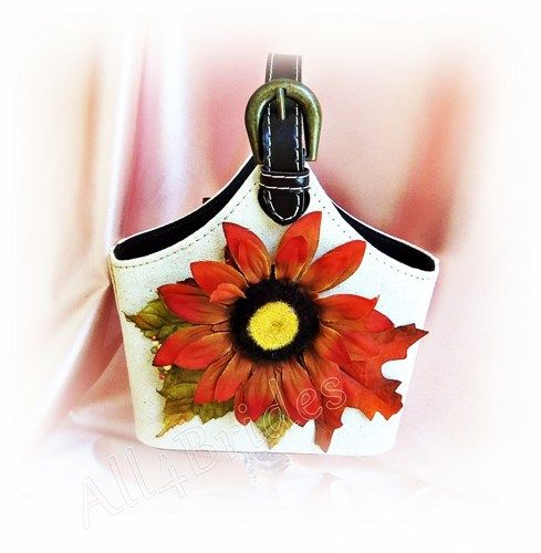 Boda - Fall Autumn Weddings Flower Girl Basket