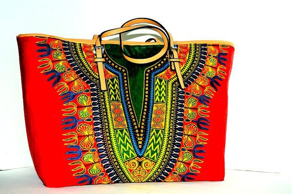 Hochzeit - Worldwide Free Shipping - Costumisable Dashiki Bag