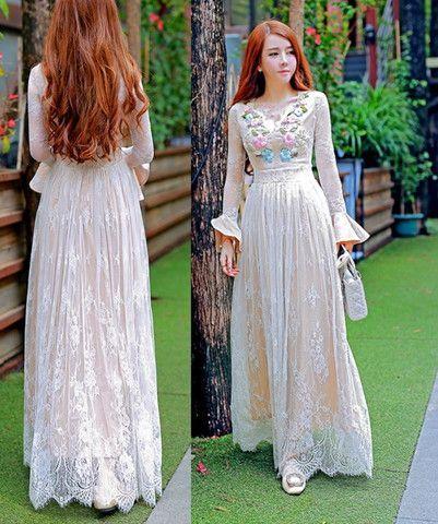 زفاف - Vintage Lace Wedding Dress
