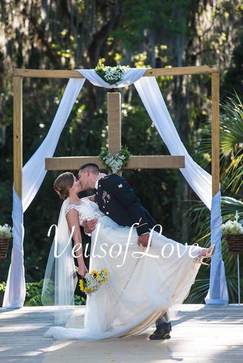 Mariage - FINGERTIP VEIL, bridal veil, wedding veil, blush, ivory, snow white, champagne color, traditional, classical veil, short veil white