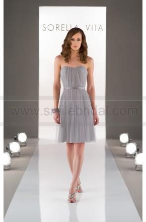Wedding - Sorella Vita strapless Cocktail Bridesmaid Gown Style 8467 - Bridesmaid Dresses 2016 - Bridesmaid Dresses