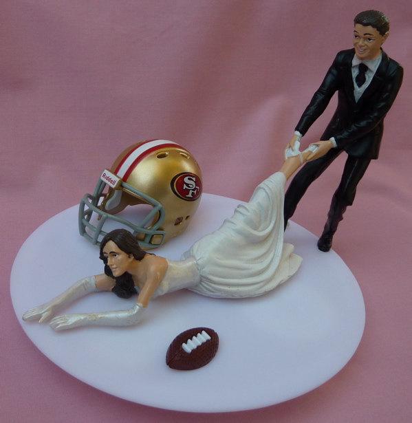 Italian Bride And Groom Wedding Cake Topper