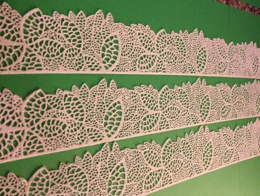Свадьба - Edible Lace -  Leaves Edible Cake Lace-Ready to Use Edible Lace for Edible Lace DIY Cake, Any Occasional Edible Lace Needs