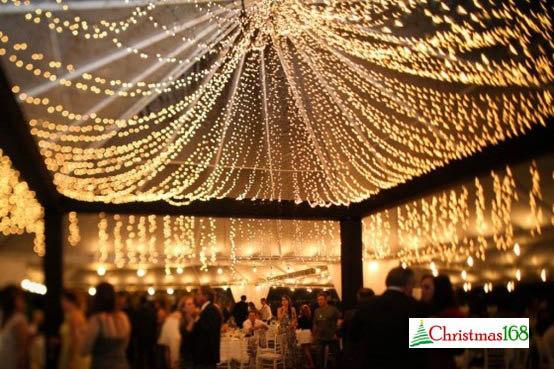 Свадьба - 32 feet 100 LED String Fairy Lights Wedding Garden Party Xmas Light, White, Blue, Green, Red Linkable