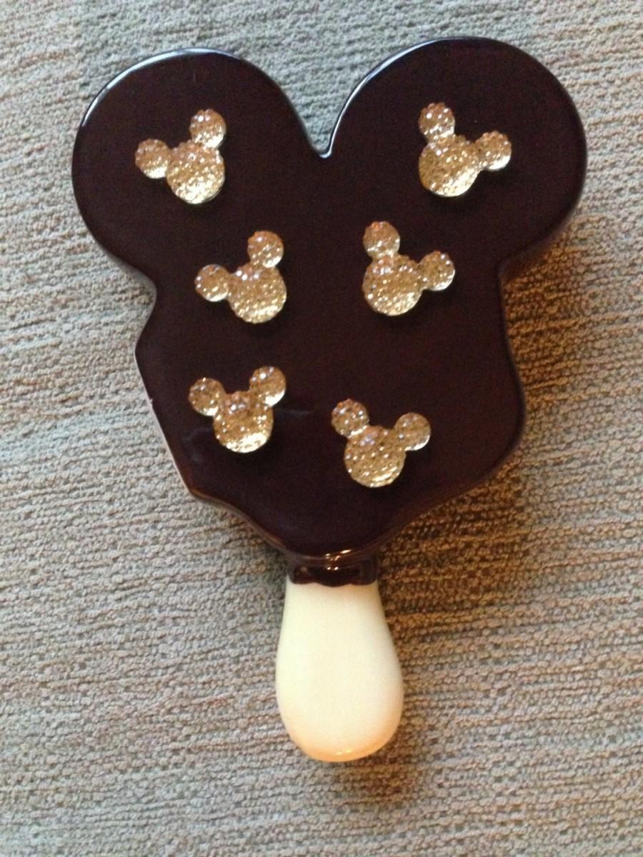 Свадьба - Mickey Mouse Disney Crystal Rhinestone Hidden Mickey for Wedding Bridal Bouquet in Light Belle Gold
