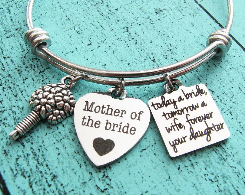 Mother Of The Bride Gift, Wedding Gift For Mom, Today A Bride ...