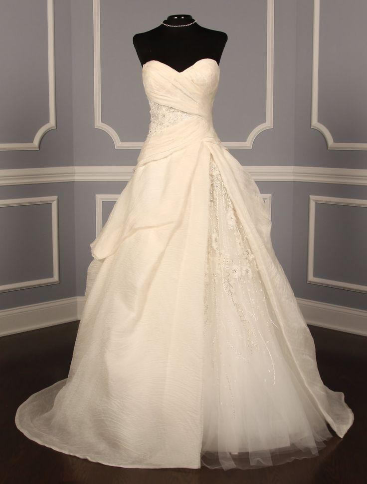Wedding - Monique Lhuillier Charade Discount Designer Wedding Dress