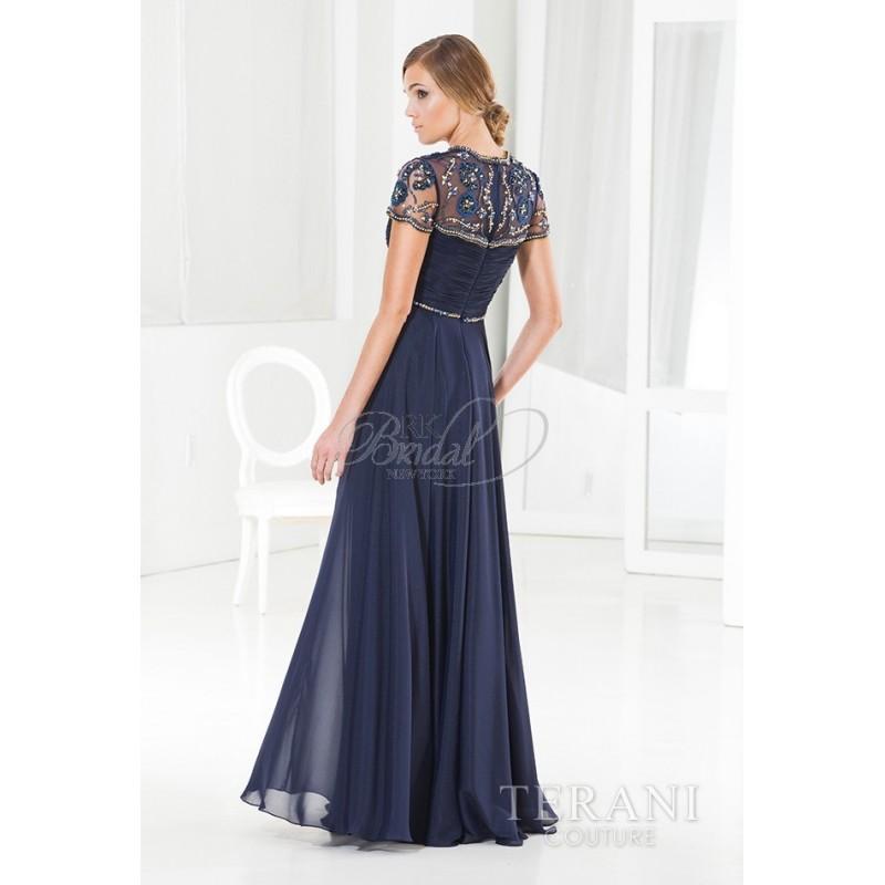 Wedding - Terani Couture Evening Fall 2014 - Style M3806 - Elegant Wedding Dresses