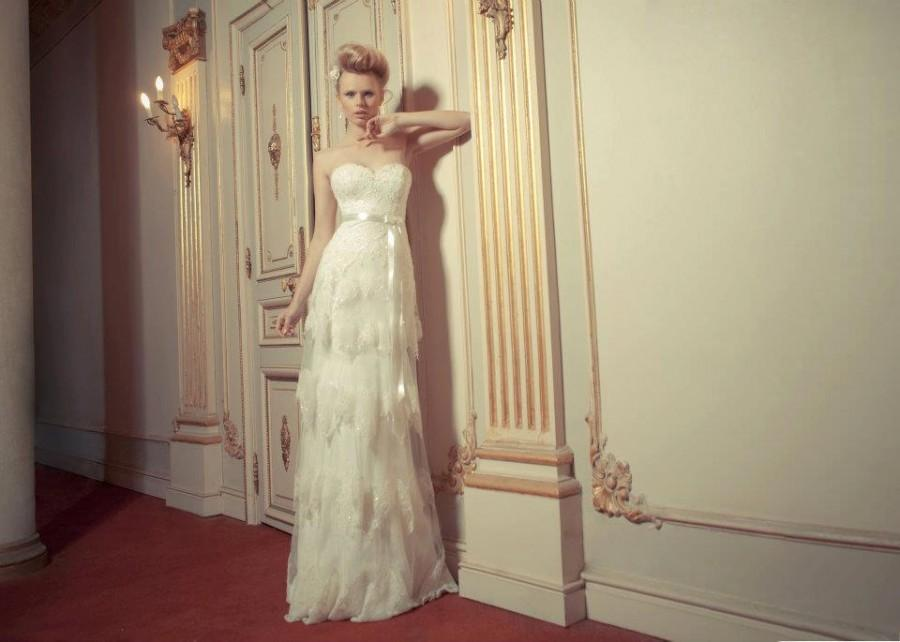 Vintage Lace Wedding Dresses with Corset