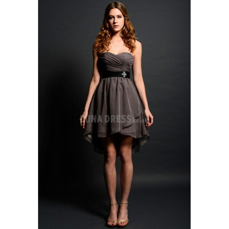 Wedding - Sleeveless A line Chiffon Sweetheart Empire Bridesmaids Gown - Compelling Wedding Dresses