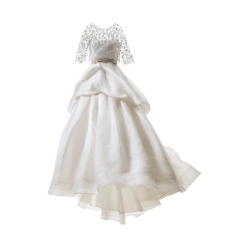Wedding - Monique Lhuillier - Organza and Tulle Ball Gown Wedding Dresses - Stunning Cheap Wedding Dresses