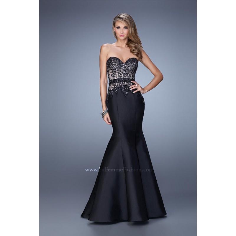 Hochzeit - GiGi by La Femme 21410 - Elegant Evening Dresses