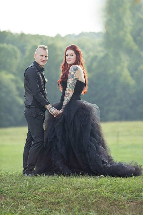 Gothic Tulle Dress