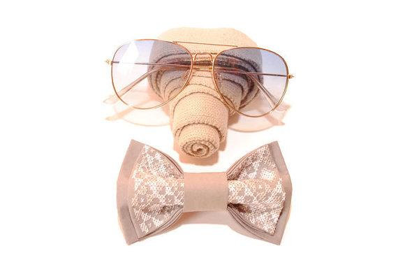 Свадьба - mens bow tie grey bowtie for men wedding guests gift boyfriend boys necktie groomsmen tie bride prop ties gifts fo husband geschenke ehemann