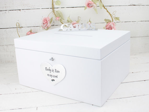 زفاف - Wedding Card Box, Rustic Wedding Card Box, Rustic Card Box, Rustic Weddings, Advice Box, Card Box, Wedding Gift, Personalised Wedding Gift