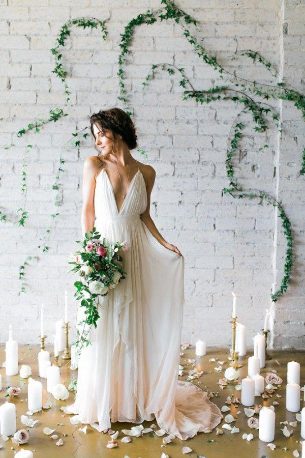 Wedding - Goddess-Inspired Bridal Shoot In Cleo & Clementine