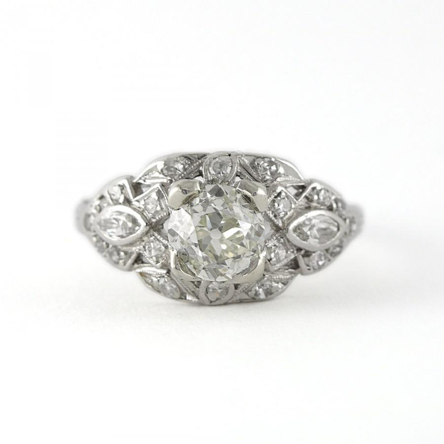 Wedding - Antique Diamond engagement ring