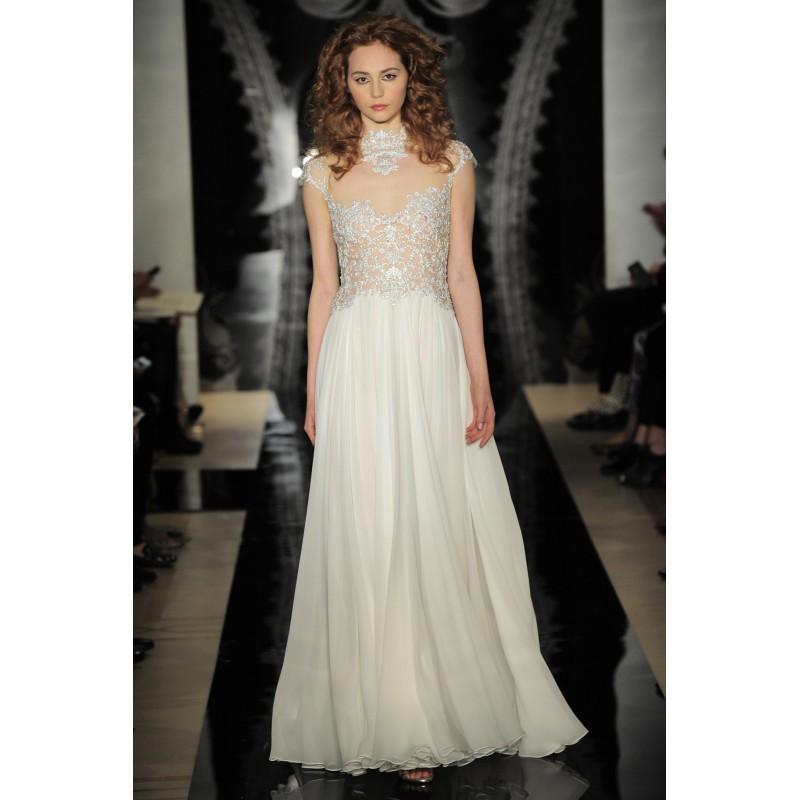 Hochzeit - Reem Acra - Bridal Spring 2014 964926 - granddressy.com