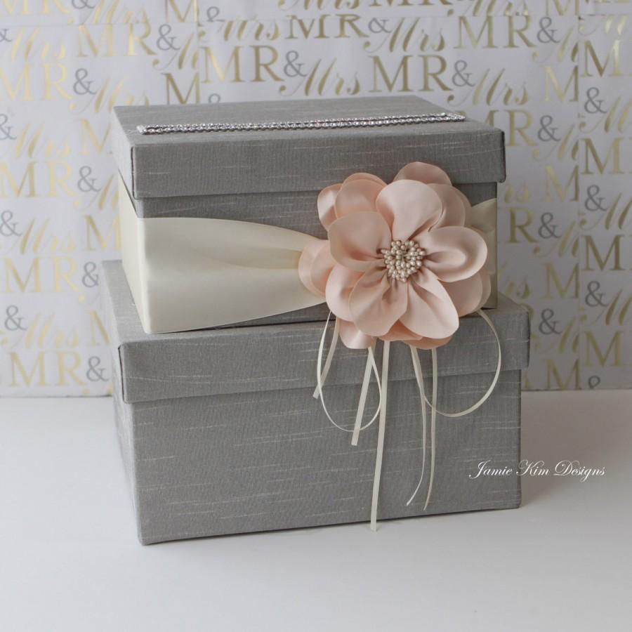 Свадьба - Wedding Card Box Wedding Money Box (Small Size)
