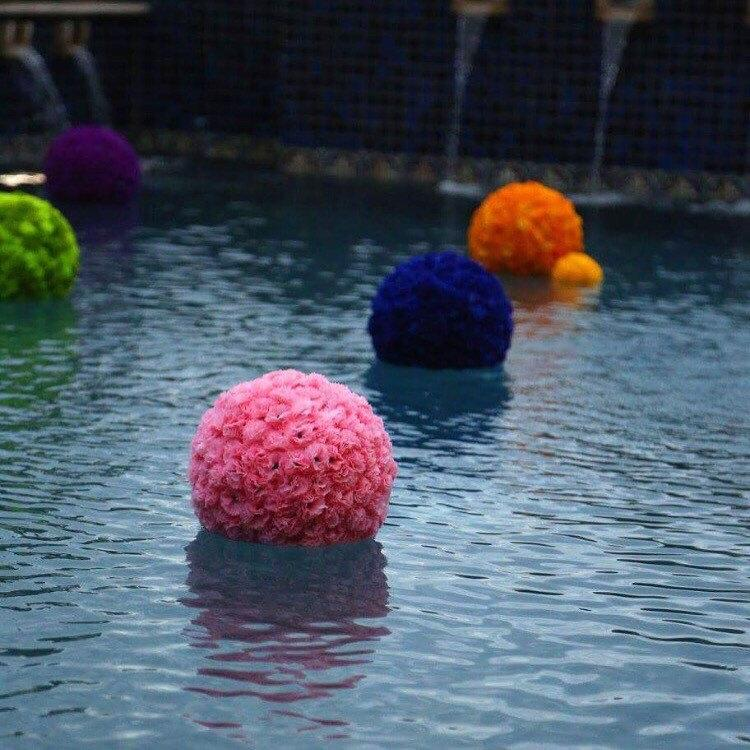 Свадьба - Floating Kissing Ball Pool Decoration Large Pomander