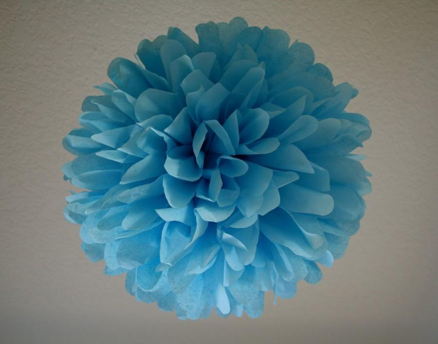SKY 1 Tissue Paper Pom Wedding Decoration Diy Birthday Party