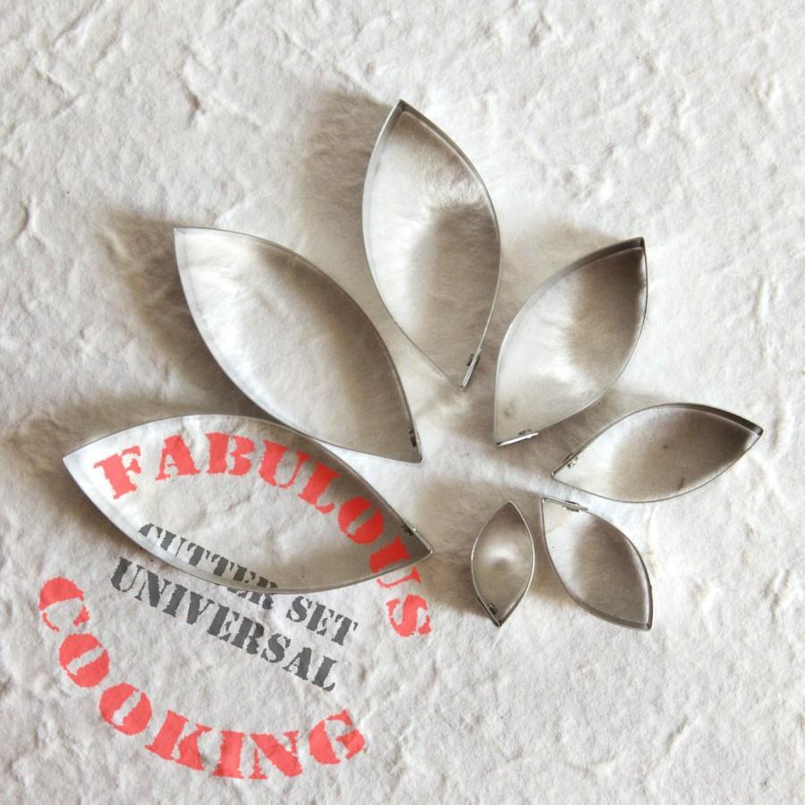 Mariage - UNIVERSAL Cutter Set  for sugarcraft / artificial floristy