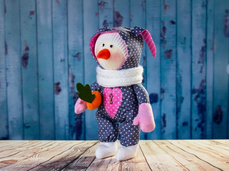 Mariage - Best price! Snowman Norman. Snowman in pajamas. Textile toy Snowman tilda. Soft toy Tilda toy. Winter toy. Rag toy. Сloth toy. Christmas toy