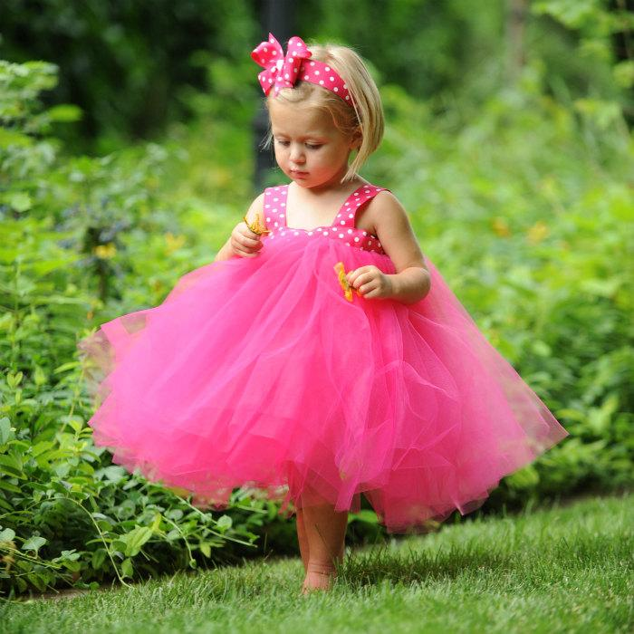 Hot pink tulle flower girl dress wedding flower girl dresses for hot pink tulle flower girl dress wedding flower girl dresses for toddlers girls tulle dress flower girl tutu toddler flower girl dress tutu mightylinksfo