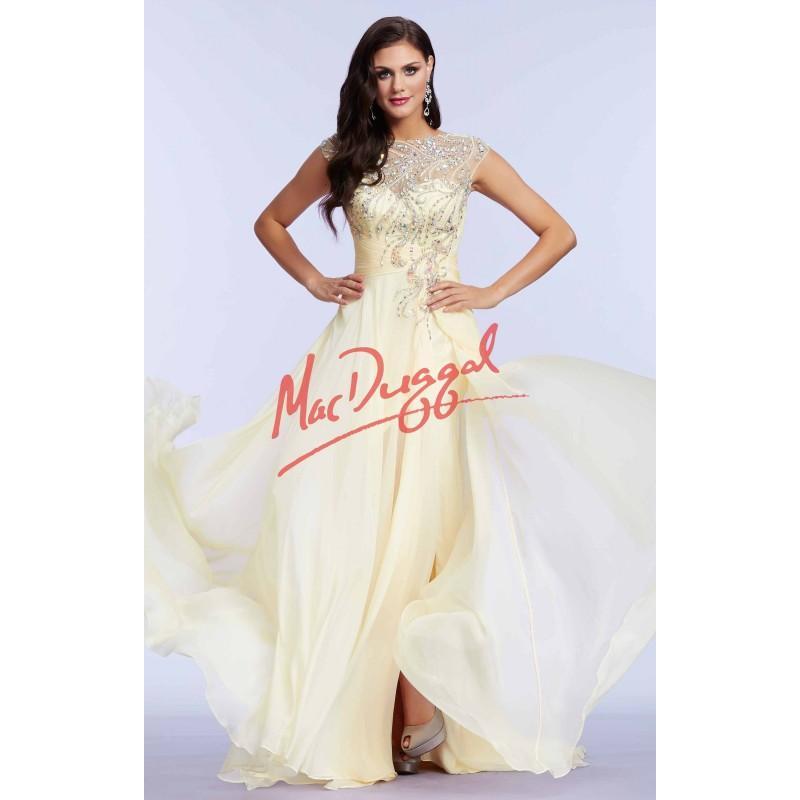 Wedding - Mac Duggal - 64971M - Elegant Evening Dresses