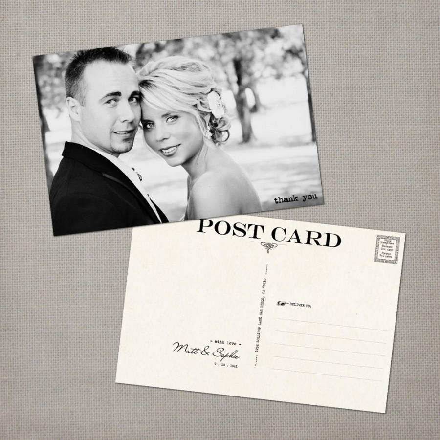Wedding Thank You Cards / Thank You Note Cards / Vintage Cards ...