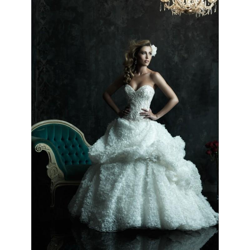 Allure Couture C242 Beaded Ball Gown Wedding Dress - Crazy Sale ...