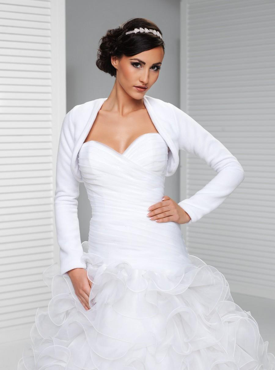 Dress Simple Winter Bridal Cover Up 2590749 Weddbook