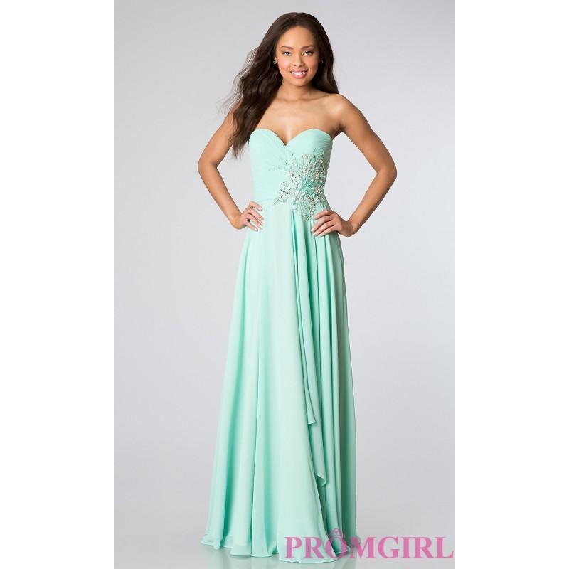 Свадьба - Strapless Prom Gown JVN by Jovani - Brand Prom Dresses