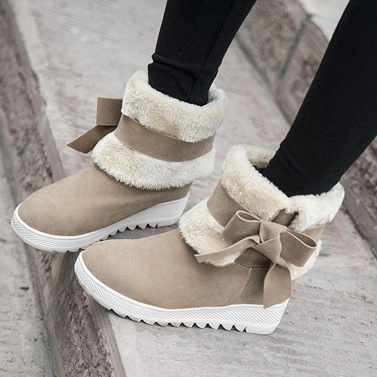 Warm Winter Ankle Boots