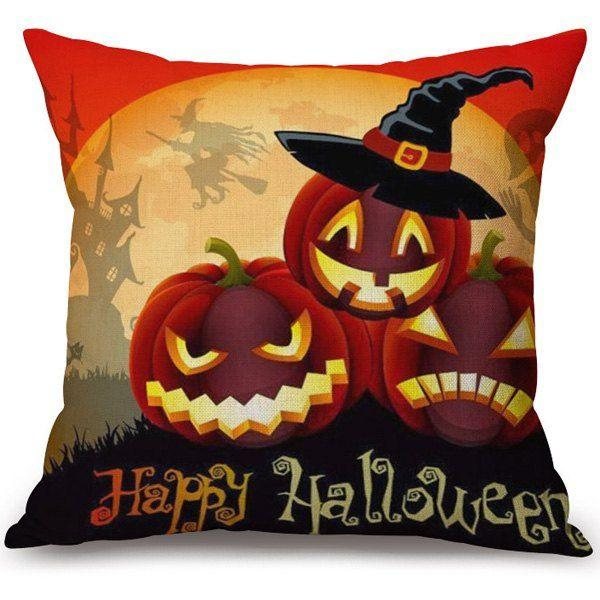 Mariage - Soft Pillow Case for Halloween