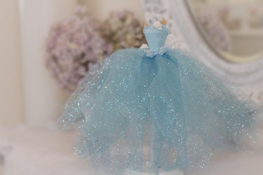 Cinderella Birthday Centerpiece Princess Gown Party Decoration Cake Table Decor