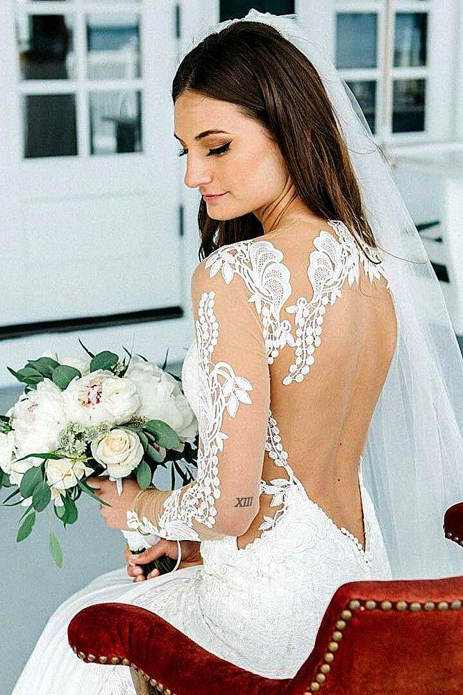 Wedding - Fall In Love With These Fantastic Details Of Bridal Dresses