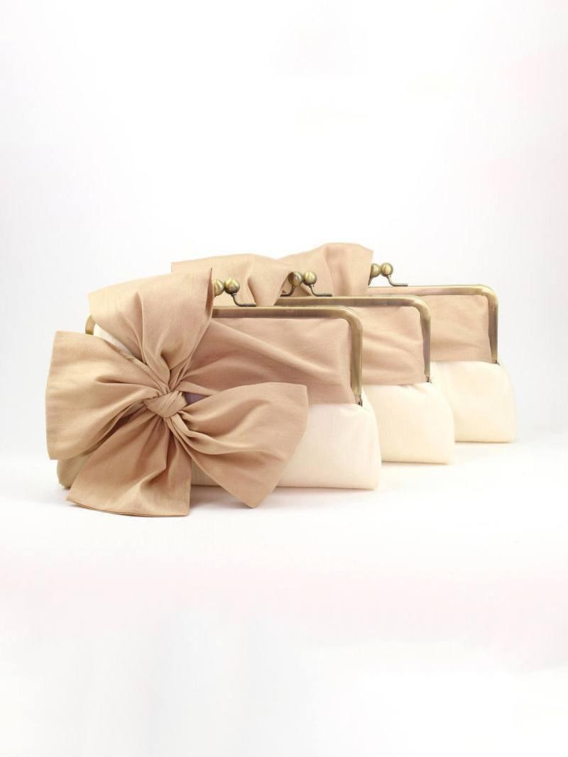 Mariage - Bridesmaid Clutch Set