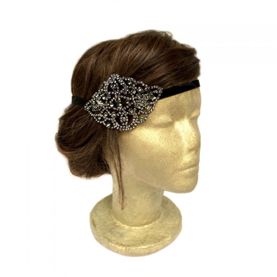 how to make a flapper headpiece
