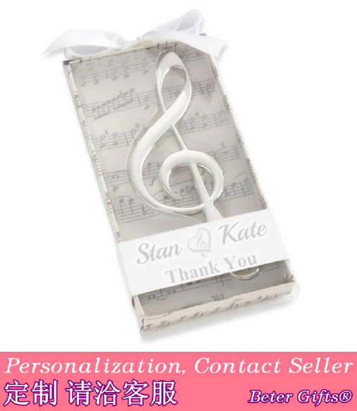 Hochzeit - Beter Gifts©  Music Symphony Wine Opener Wedding Souvenirs BETER-WJ096 Bridal Shower Favors